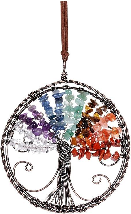 Dreamcatcher Star /& Moon Tree of Life Suncatcher