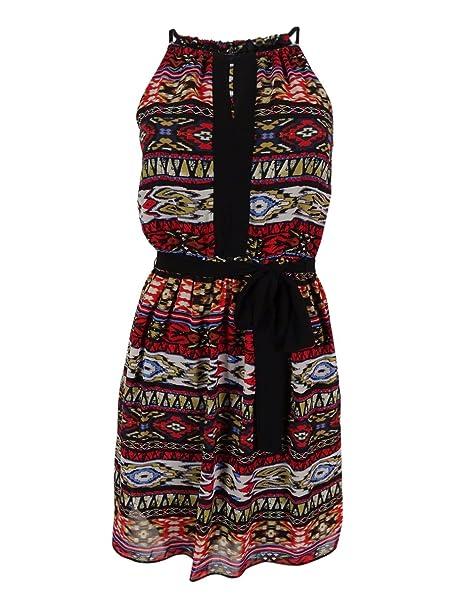 289d95e48 BCX Juniors' Braided Straps Dress (XXS, Multi) at Amazon Women's Clothing  store: