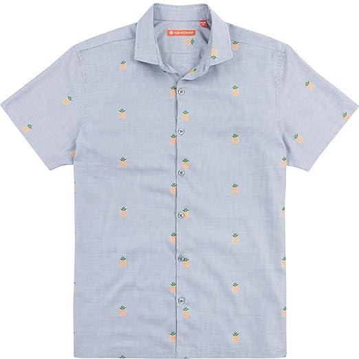 5b3b2bb5 Tori Richard Dole N Row Camp Shirt - Smoke at Amazon Men's Clothing ...