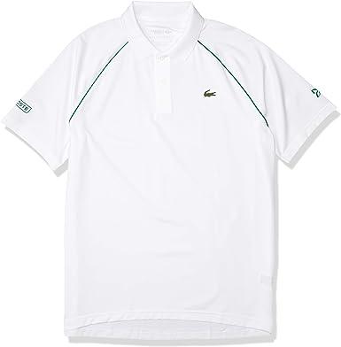 Lacoste Men S Sport Novak Djokovic Solid Technical Polo Shirt At Amazon Men S Clothing Store