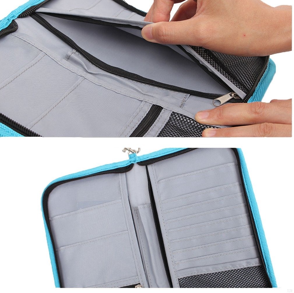 and Accessories GADIEMENSS Travel Wallet Passports Holder with RFID Blocking Offer Family Organizer for Credit /& Business Cards Document Boarding Pass
