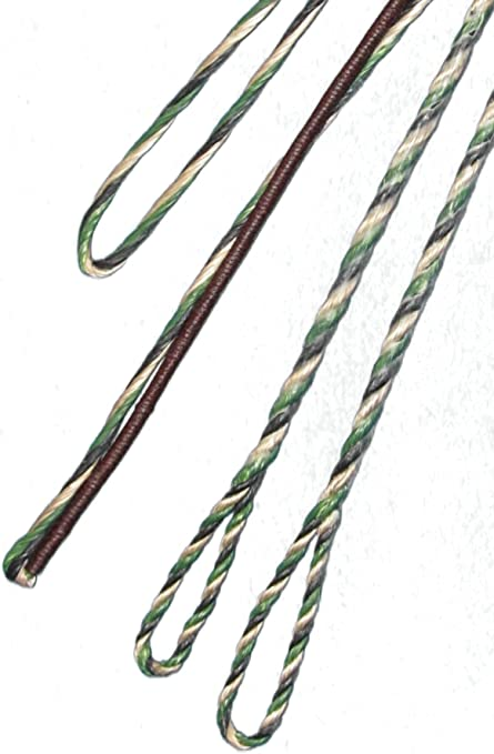 """52/"""" INCH ACTUAL LENGTH FASTFLIGHT FLEMISH Recurve Bow String Free SH USA MADE"""