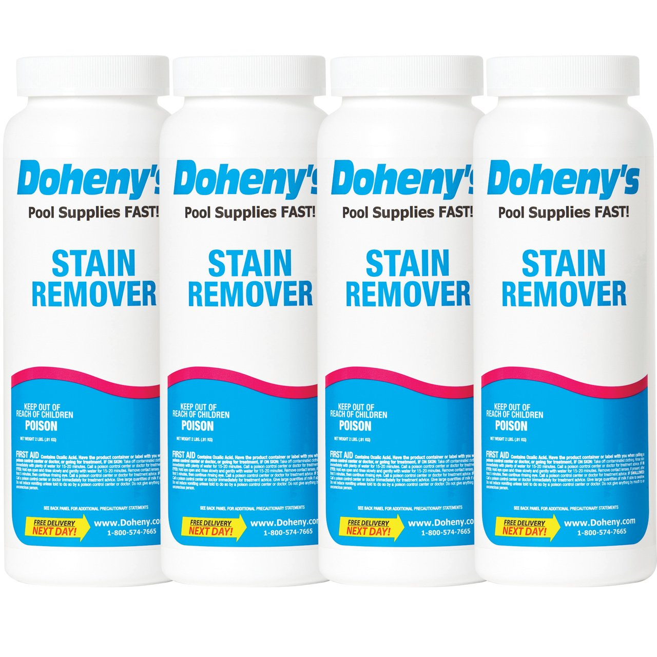 Doheny's Stain Remover - (4) 2 lb. Container by Doheny's