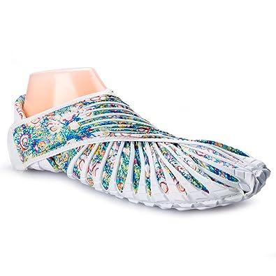 Vibram furoshiki walking yoga fitness shoe white flower l us women vibram furoshiki walking yoga fitness shoe white flower l us women mightylinksfo