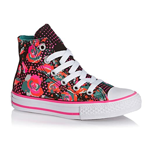 b92f70cb8b5 Amazon.com  Converse Junior CT All Stars HI 654210C Sneakers Black ...