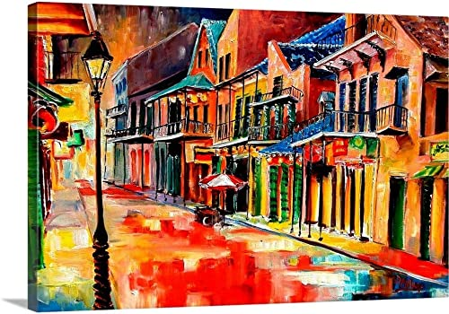 New Orleans Jive Canvas Wall Art Print