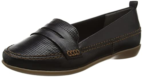 8c8795f115d Evans Women s Extra Wide Black Loafers