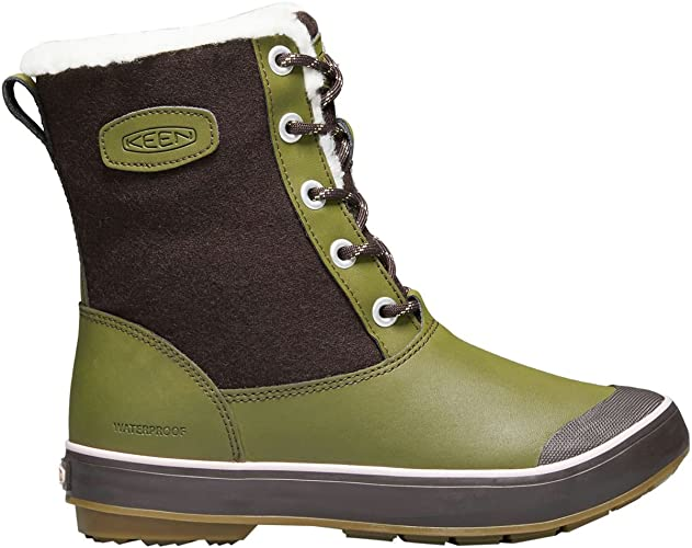 KEEN Womens Elsa Boot Wp-w Snow