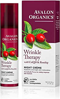 product image for Avalon Organics Night Crème, Wrinkle Therapy, 1.75 Oz