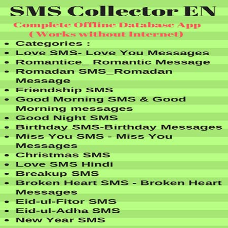 Amazon com: SMS Collector EN: Appstore for Android