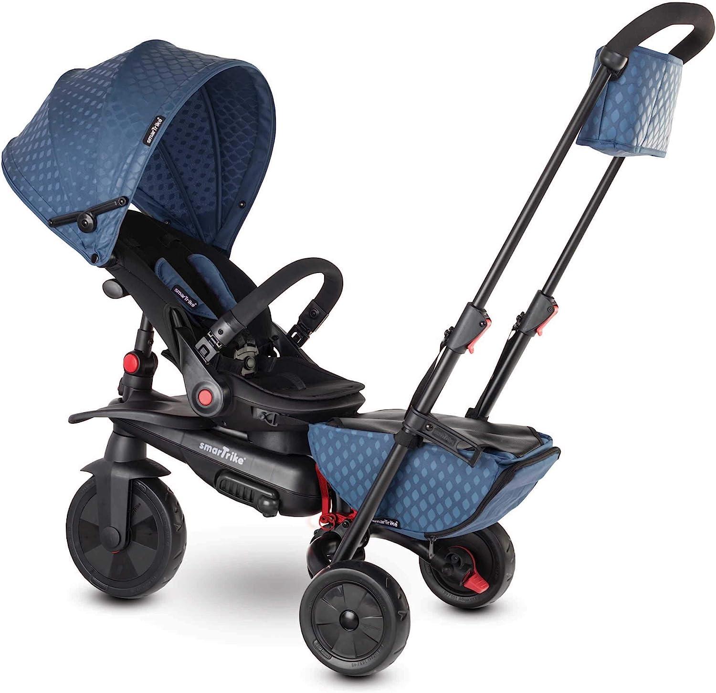 smarTrike 7 7-triciclo plegable para niños, azul, color (5500812)