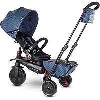 smarTrike 7 7-triciclo plegable para niños, azul, color