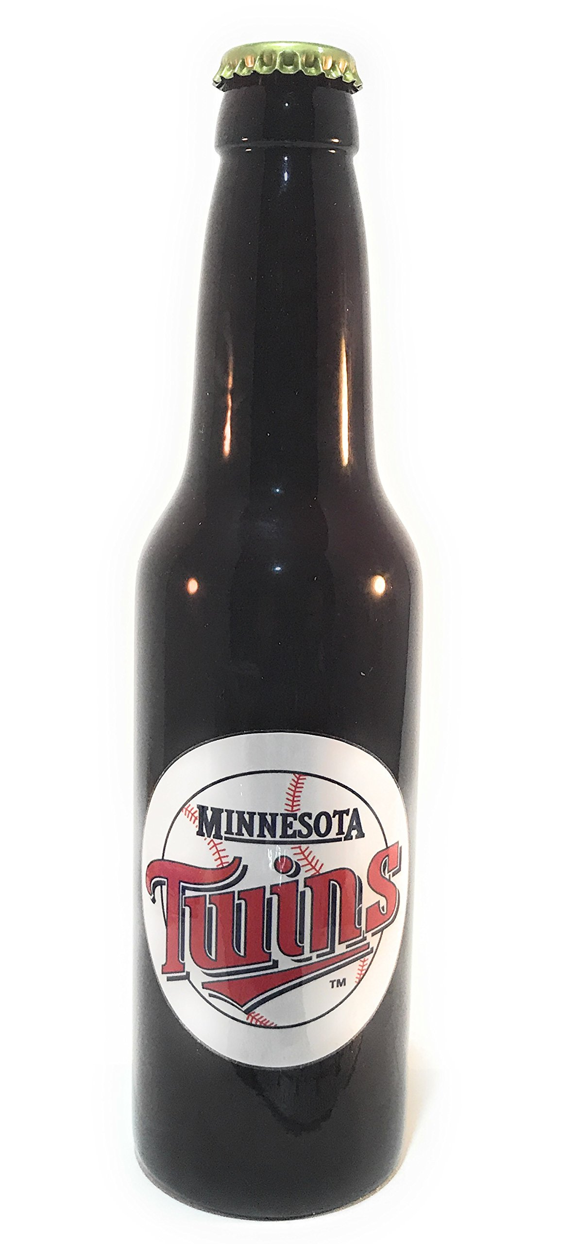 Minnesota Twins Beer Tap handle Bottle Style by Matts Classic Collectibles (Image #1)
