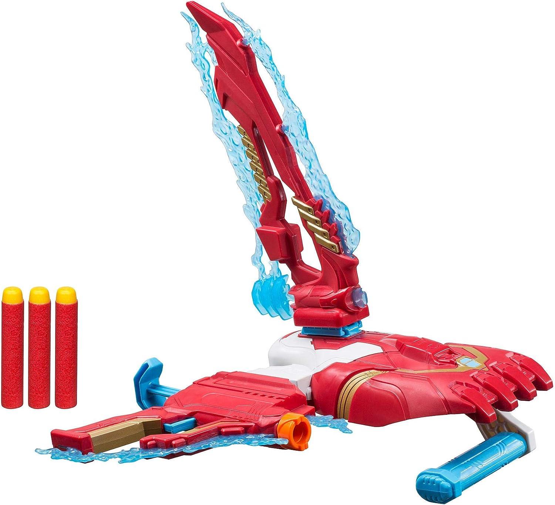 Avengers - Nerf set de combate 2.0 Iron Man(Hasbro E3354EU4)