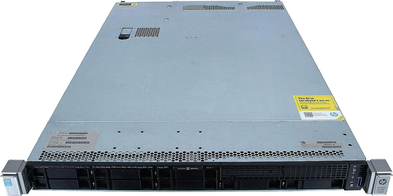 Enterprise Proliant DL360 G9 Server | 2X E5-2620v3-2.40GHz=12 Cores | 96GB RAM | P440 | 8X 300GB SAS (Renewed)