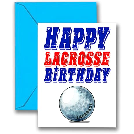 Amazon 3 pack lacrosse star birthday cards 3 pack 5x7 play 3 pack lacrosse star birthday cards 3 pack 5x7 play strong sports m4hsunfo