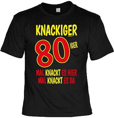 80 Jahre Geburtstagsgeschenk Herren T Shirt Geschenke Idee Opa Zum