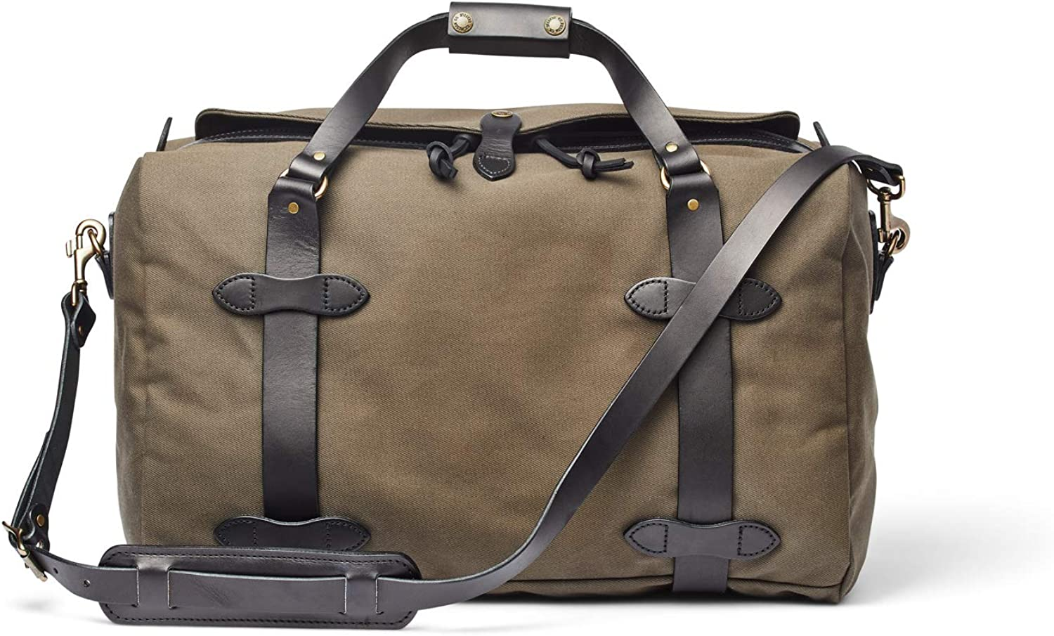 Filson Rugged Twill Medium Duffle Bag Root