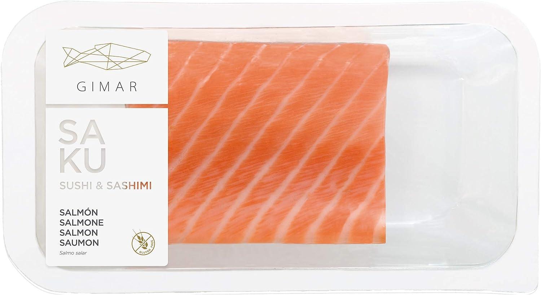 GIMAR Sushi & Sashimi Salmón, 140g: Amazon.es: Alimentación y ...