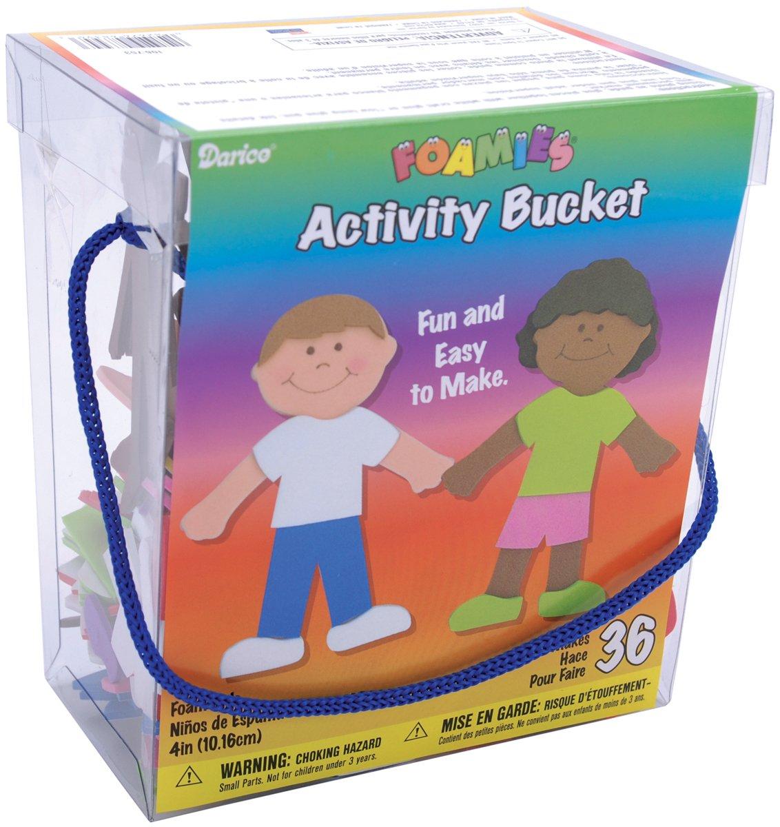 Darice Activity Foamies Bucket of Tribal Turtles