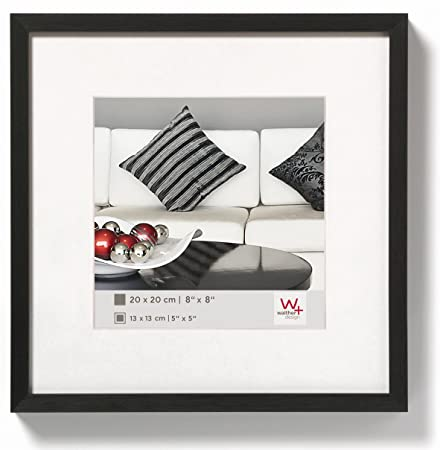 Walther design AJ220B Chair aluminium picture frame, 8 x 8 inch (20 ...