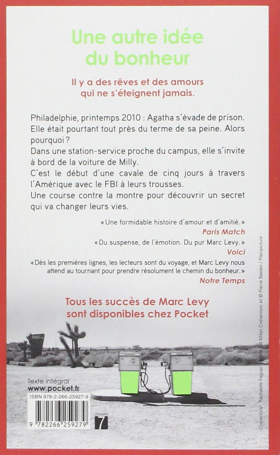 Amazon Une Autre Idee Du Bonheur Levy Marc Foreign Language Fiction