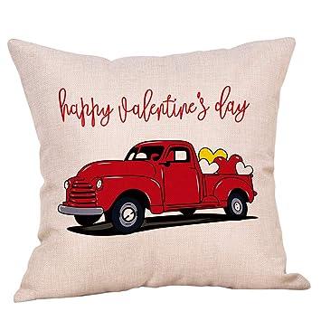 Amazon.com: Softxpp Happy Valentines Day Vintage Red Camión ...