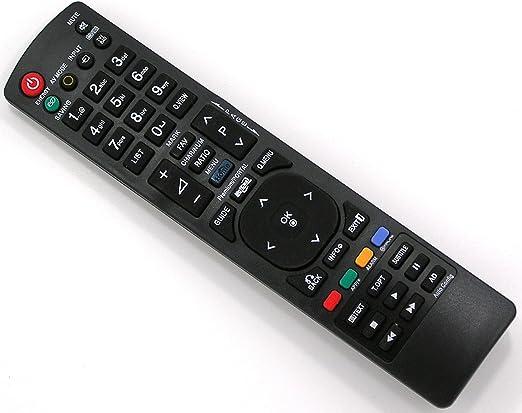 040 T/él/écommande de Remplacement pour LG AKB72915244 TV t/él/éviseur