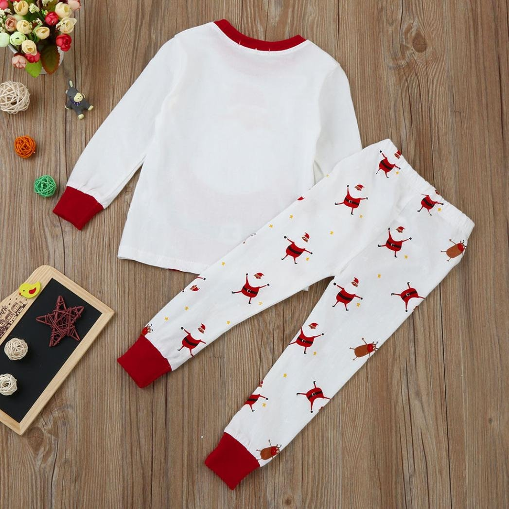 Tenworld Toddler Infant Baby Boy Girl Clothes Tops + Pants Christmas ...