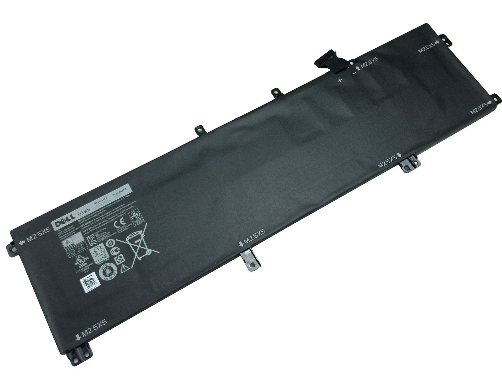 New Genuine Dell XPS 15 9530 Precision M3800 11.1V 91 Wh Battery 7D1WJ 07D1WJ by FOR DELL