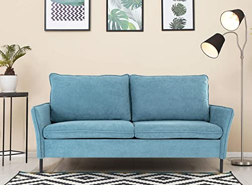 Sofa,Loveseat Couch Small Spaces Upholstered Modern Tufted Fabric