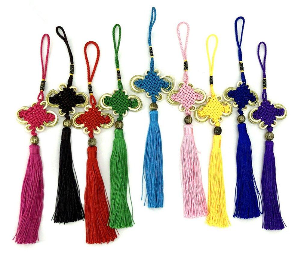 Chinese Knotting Cord - 0.8mm 100M/Roll Shamballa Macrame Nylon Braided Cord String Thread DIY Braided Rope (Mix 29 Rolls) by zhengjun (Image #7)