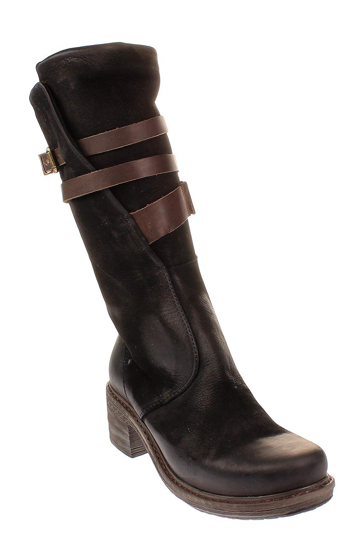 Maca Kitzbühel 2330 - Damen Schuhe Stiefel - schwarz-Nubuk