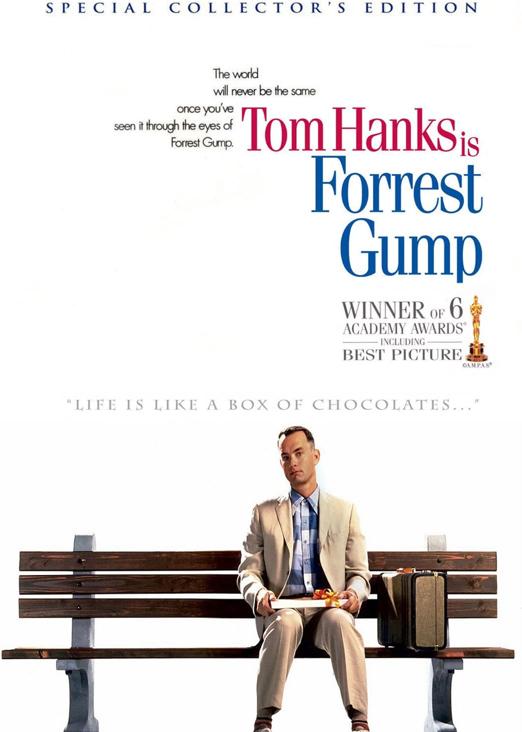 Amazon.com: JIONK Forrest Gump Movie Poster (90x60cm) (9060cm): Home &  Kitchen