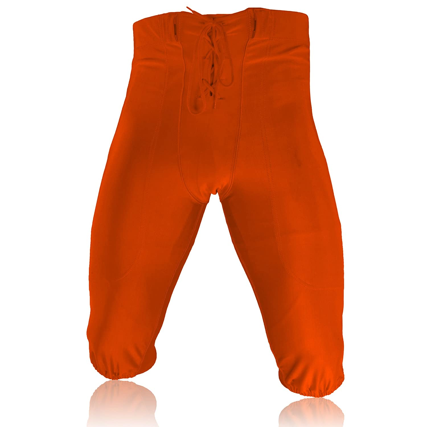 Full Force Profi Footballhose, Stretch Lycra Gamepant, Orange