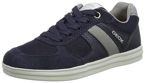 Geox J Alonisso G, Zapatillas para Niños, Azul (Navy), 31 EU