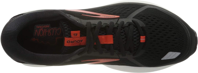 Brooks Aduro 6, Zapatilla de Correr para Hombre, Black Cherry White, 42 EU: Amazon.es: Zapatos y complementos