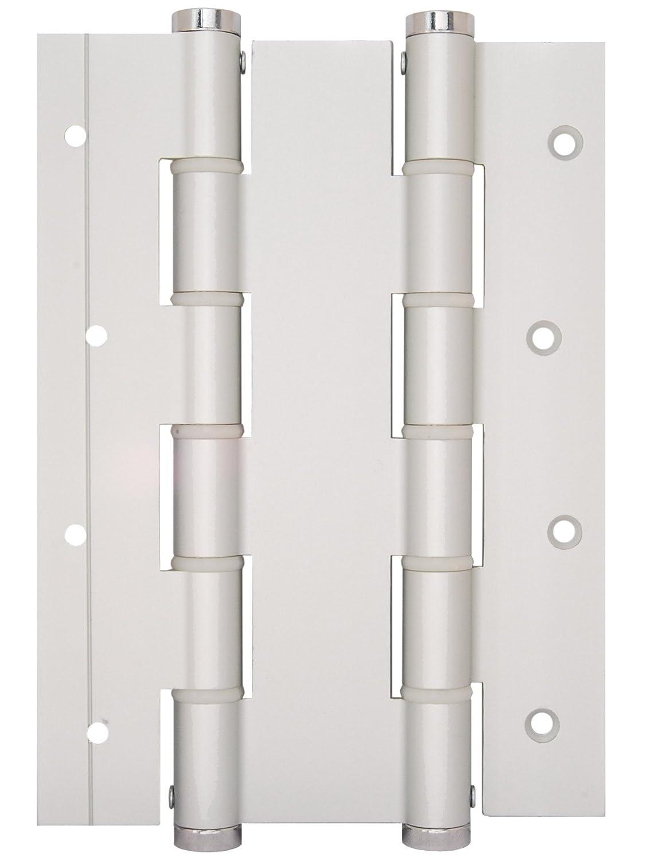 DA Bisagra muelle doble acci/ón 180 mm Plata estuche de 2 unidades