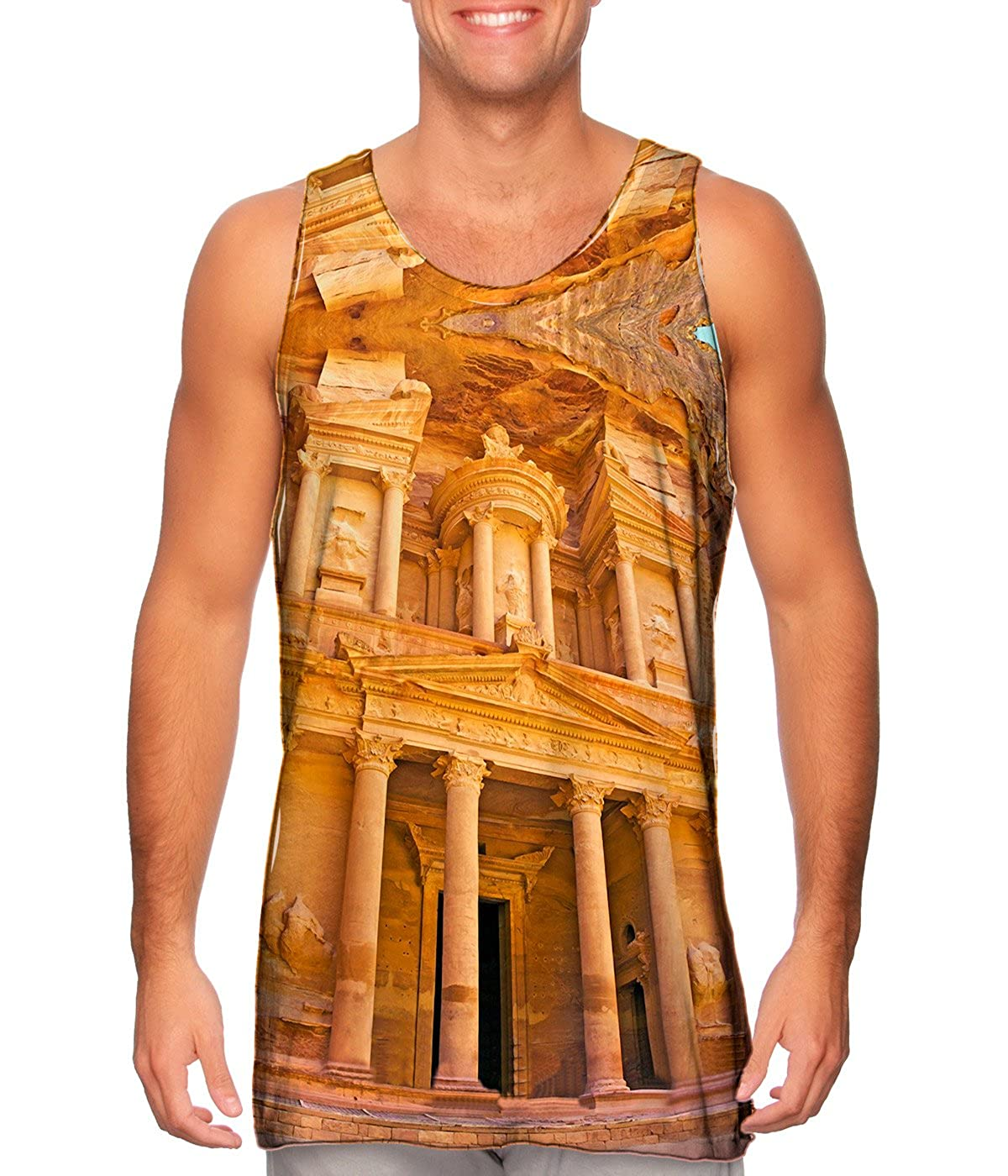 Yizzam Treasury at Petra Tshirt Mens Tank Top