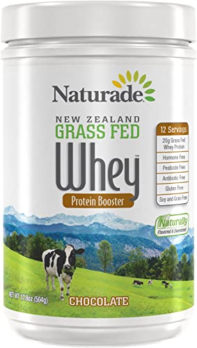Naturade New Zealand Grass Fed Whey, Chocolate, 18 Ounce