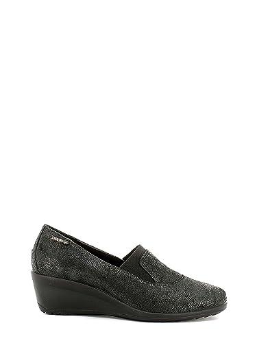 Enval 6955 Ballerines Femmes Noir Noir - Chaussures Ballerines Femme