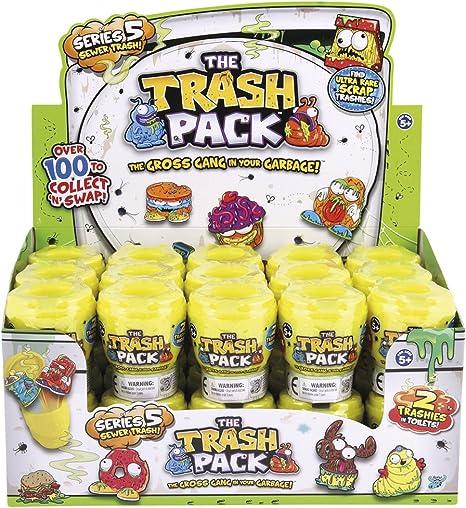 Trash Pack Serie 5 - Cubo con 2 figuras (1 cubo, figuras surtidas) , Modelos/colores Surtidos, 1 Unidad: Amazon.es: Juguetes y juegos