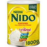 Nestle Nido Full Cream Milk Powder Tin 1800g