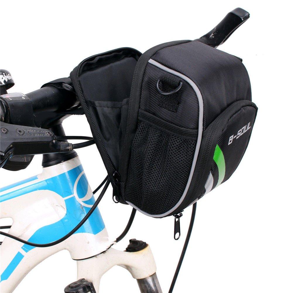 scooter Mountain Bike Electric Handlebar Bicycle Handlebar Folding Pocket Bag