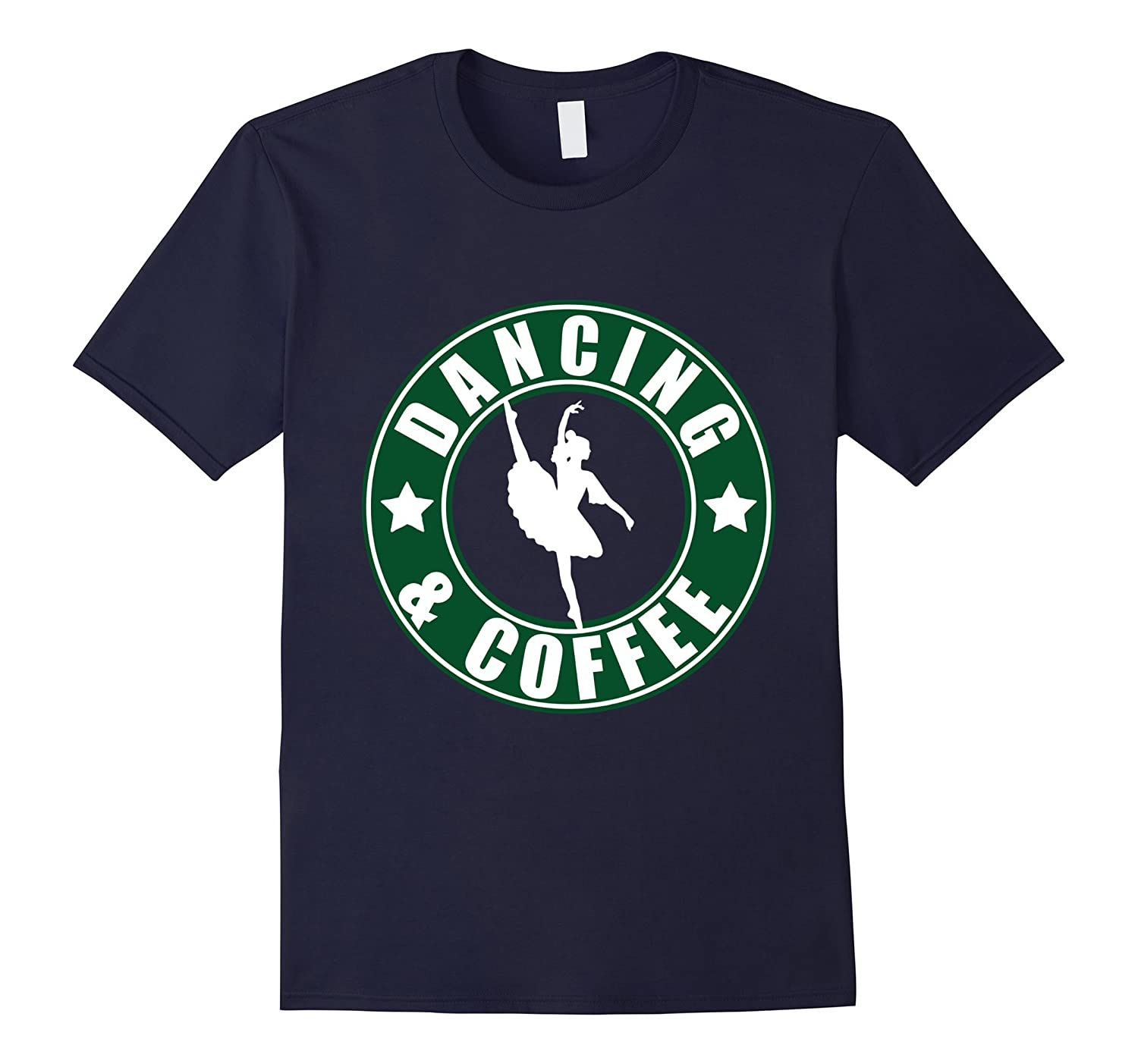 Dancing and Coffee T-Shirt-TD
