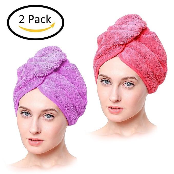 1 opinioni per HighCool Asciugamani cuffia per capelli ad asciugatura rapida ,Asciugamano