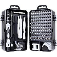 115 in 1 Precision Screwdriver Set C Philips Torx Flat Mini Screwdriver Kit for PC/Glasses/Mobile Phone/Laptop/Watch/RC…