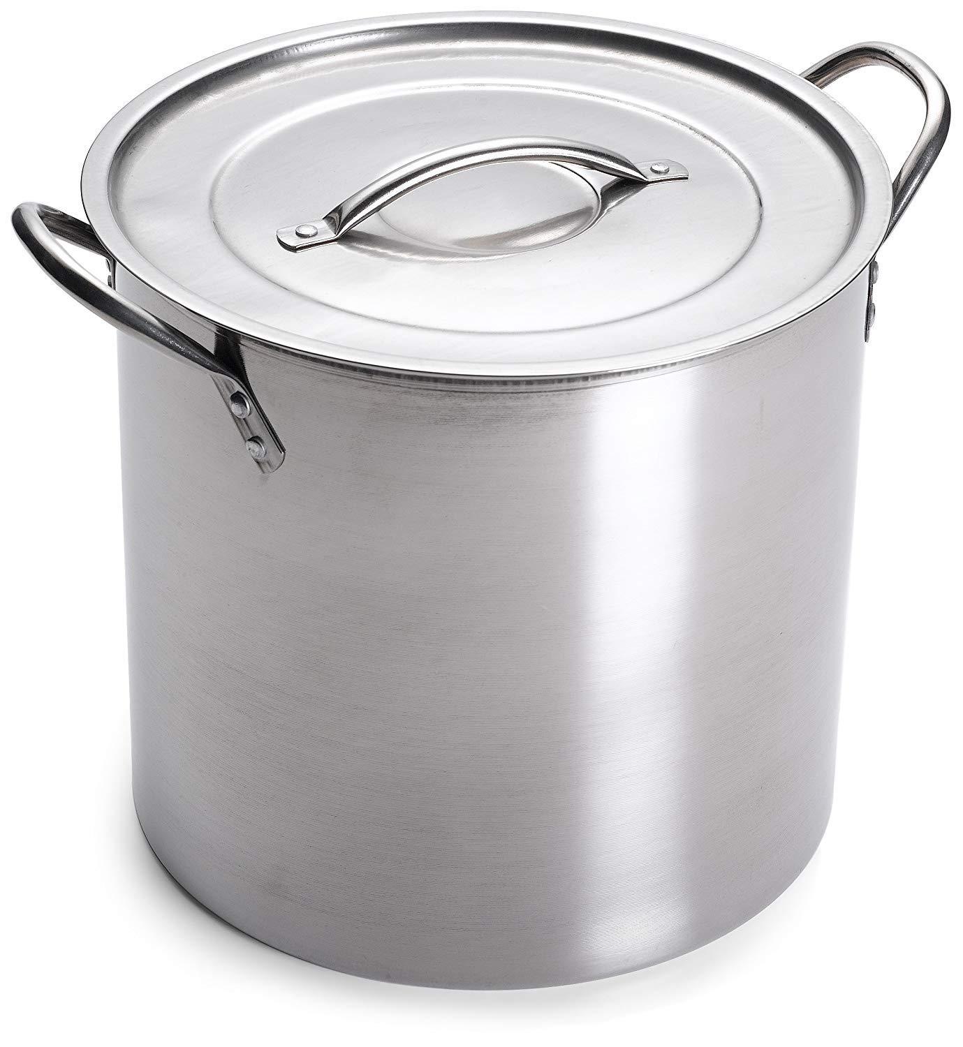 IMUSA USA L300-40317 Stainless Steel Stock Pot 20-Quart, Silver by Imusa
