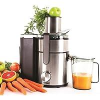 Duronic JE Licuadora para Verduras y Frutas Boca Ancha 2 Velocidades Contenedor de Pulpa y Jugo Zumos Naturales Batidos Smoothies