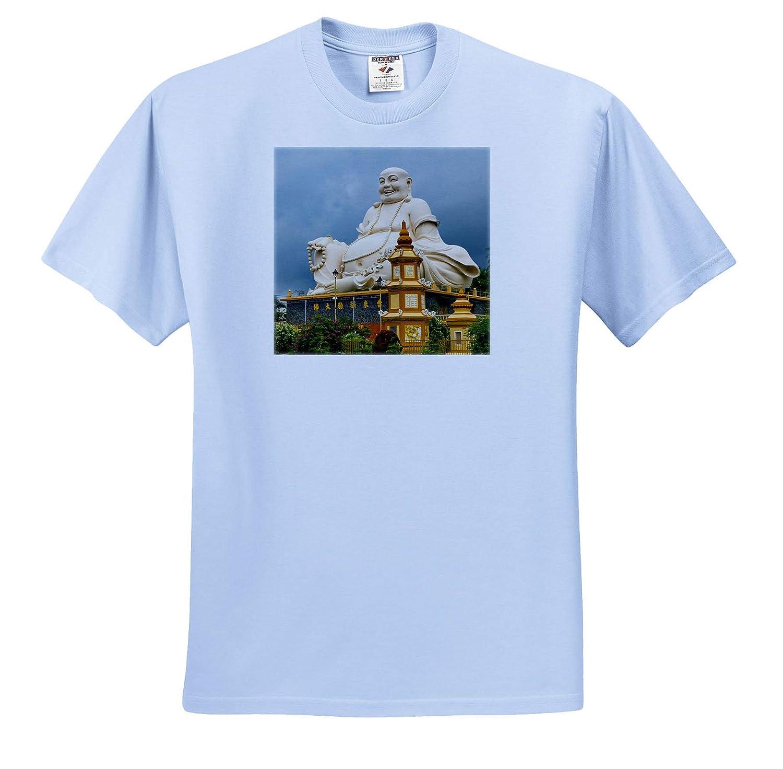 3dRose Danita Delimont ts/_312885 Vietnam Asia Ving Trang Pagoda Adult T-Shirt XL Vietnam